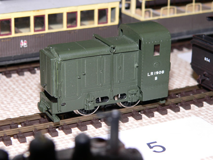 Rear view Dick Kerr petrol electric locomotive