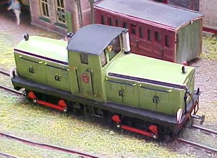 West Clare Drewry Diesel Railcar in 3mm Scale